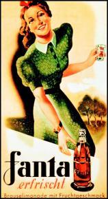 Fanta - Starodawny Plakat